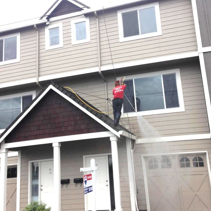 Roof Cleaning, Concrete Cleaning & Fence Cleaning Portland